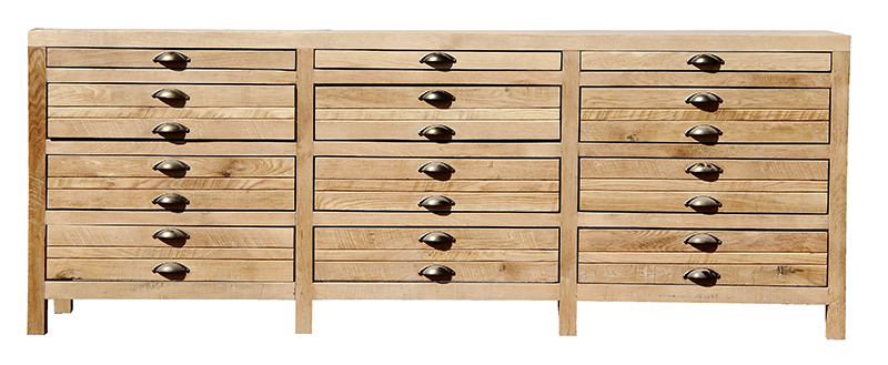 Country 12 drawer chest of drawers homewood for 12 inch depth dresser
