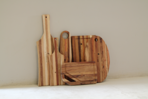 Handcrafted wooden chopping boards