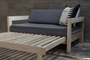 Couch - Nkwana Sleeper Double Open 3D