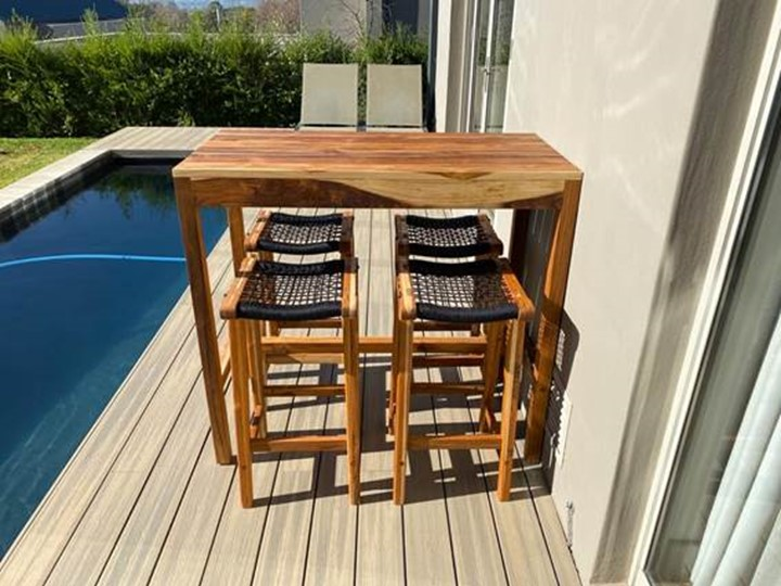 maintain outdoor wooden furniture