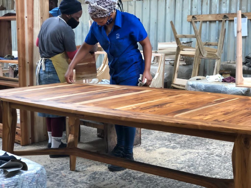 handcrafted Hardwood Furniture